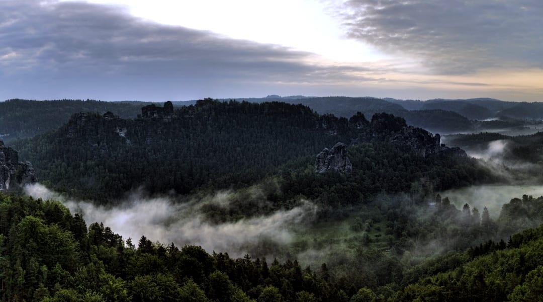 Sächsische Schweiz Panorama