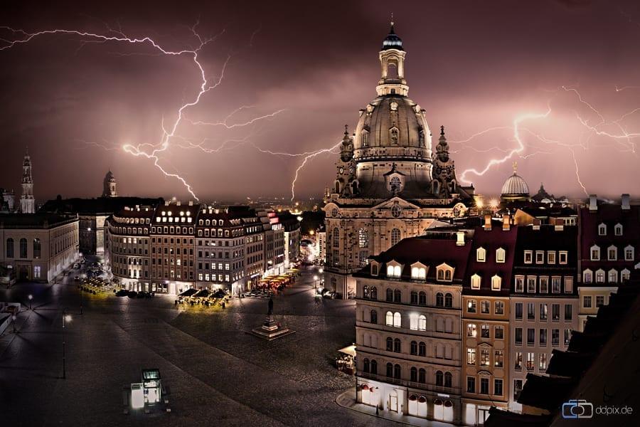 Die Dresdner Frauenkirche