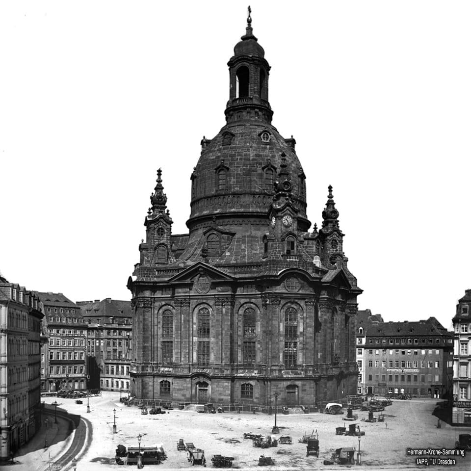 Frauenkirche im Jahre 1860