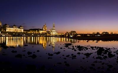 Ein lauer Spätsommerabend in Dresden