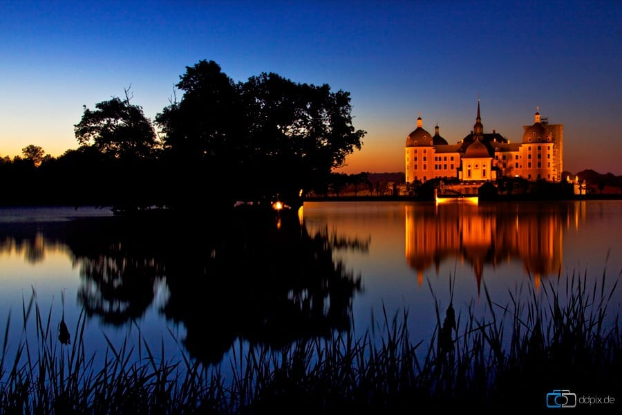 Eine Nacht in Moritzburg