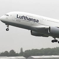 Der Airbus A380 zu Gast in Dresden