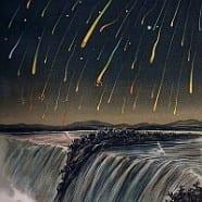 Sternschnuppennacht im August