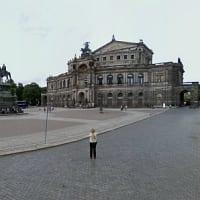 Dresden bei Google Street View