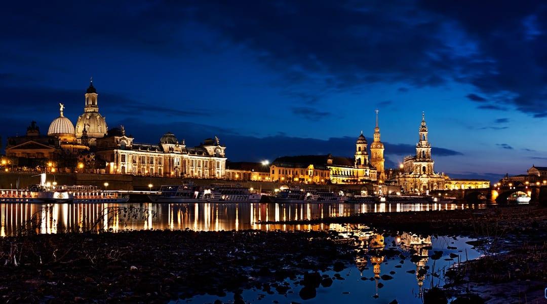 Der Frühling in Dresden