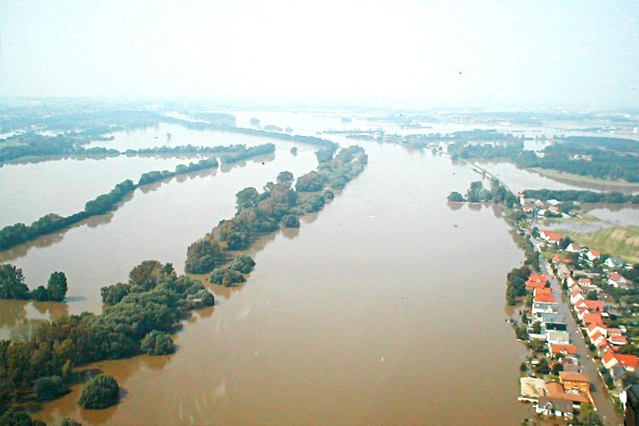 Hochwasser im August 2002