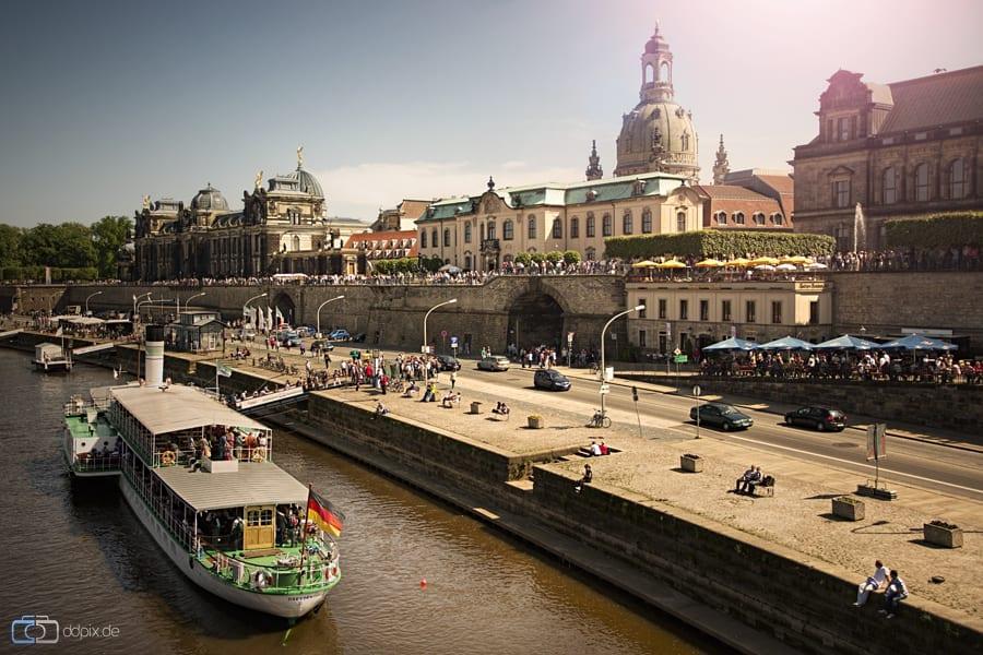 Ein Sommertag in Dresden