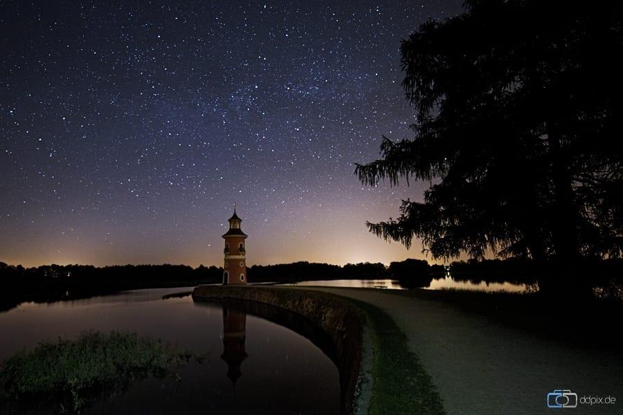 Der Leuchtturm in Moritzburg