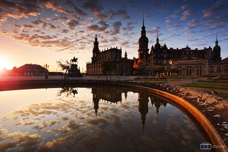 Dresden um 5 Uhr Morgens