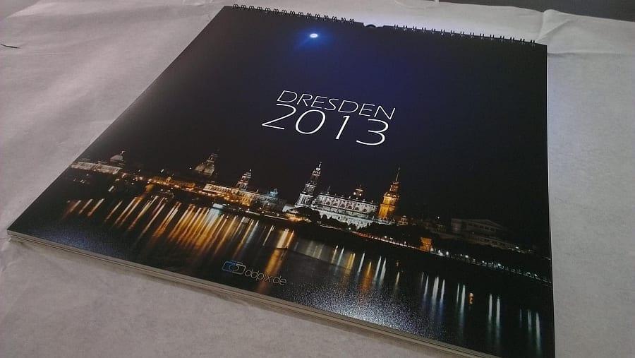 Dresden Kalender 2013 im Detail