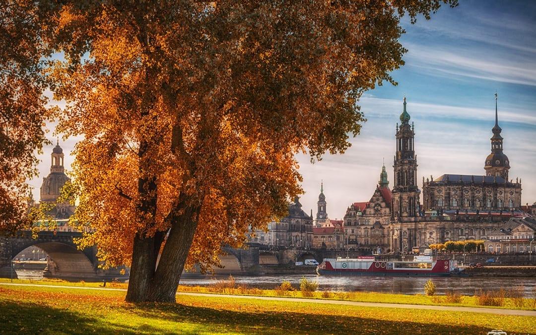 Der Herbst in Dresden