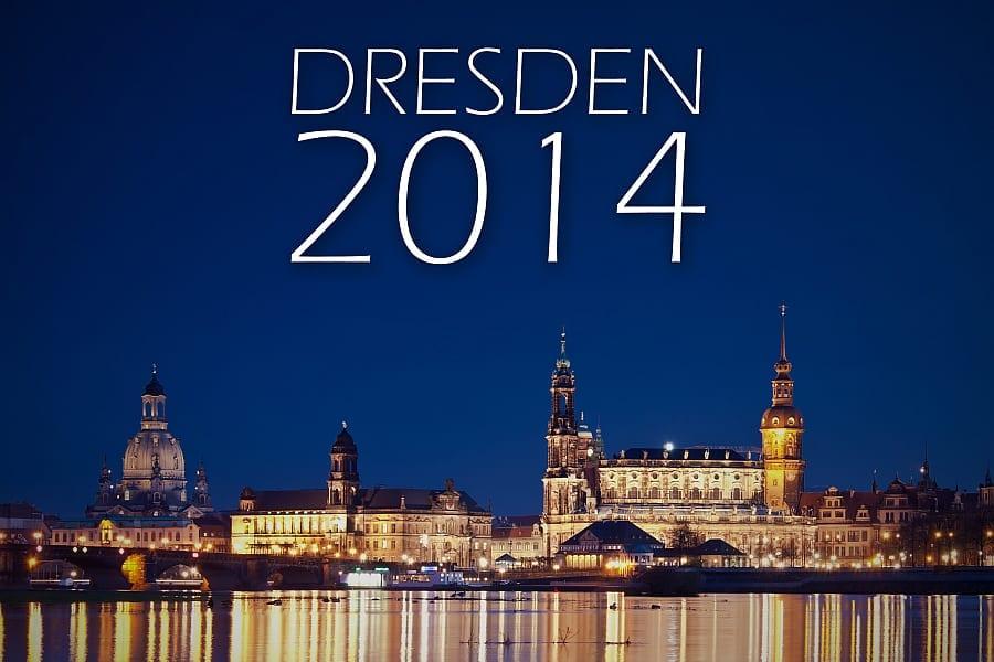 Der Dresden Kalender 2014 im Detail