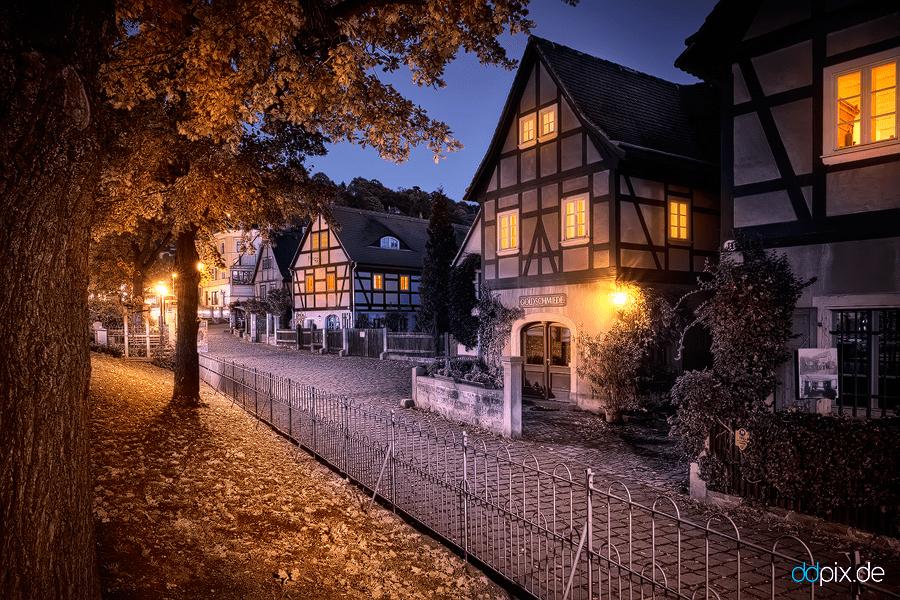 Loschwitz im Herbst