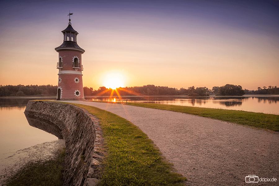 Der Leuchturm zum Sonnenaufgang