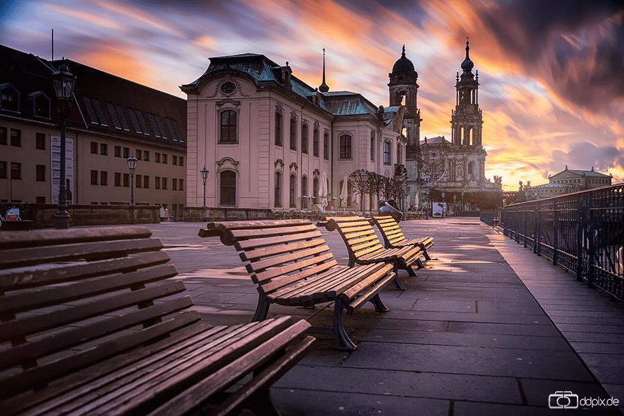 Sturmtief Niklas über Dresden