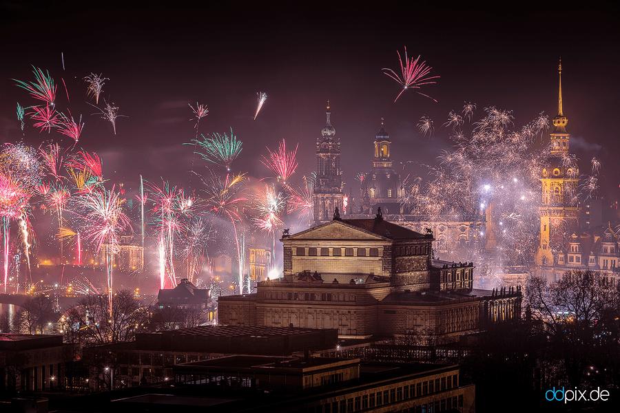 Dresden zum Jahreswechsel