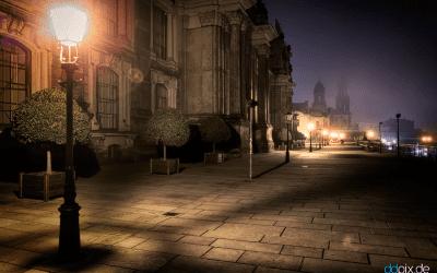 Wenn Dresden schläft