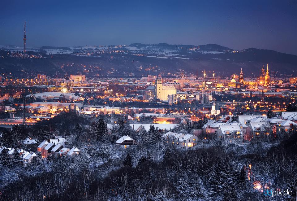 Winter in Dresden