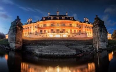 Besonderer Blick auf das Schloss Pillnitz