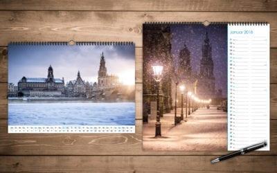 Alles zum neuen Dresden Kalender 2018