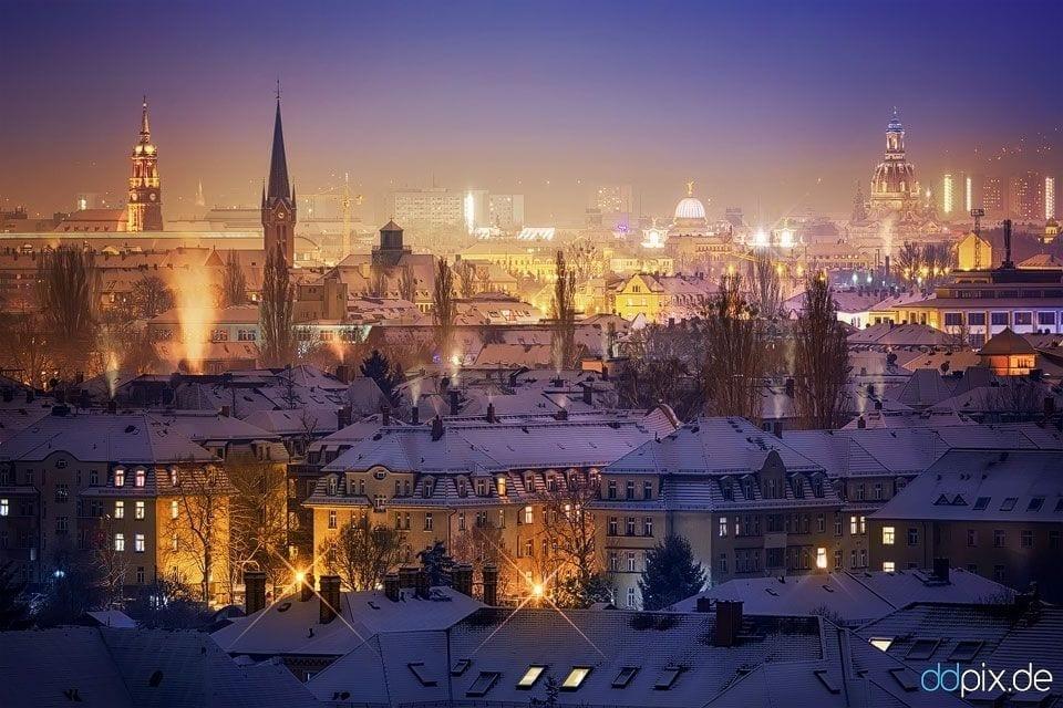 Fotostandpunkte zur Silvesternacht in Dresden