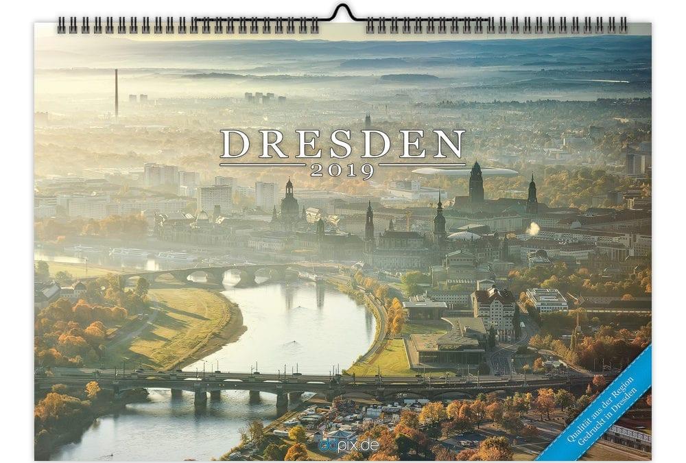 Dresden Kalender 2019, es geht los!