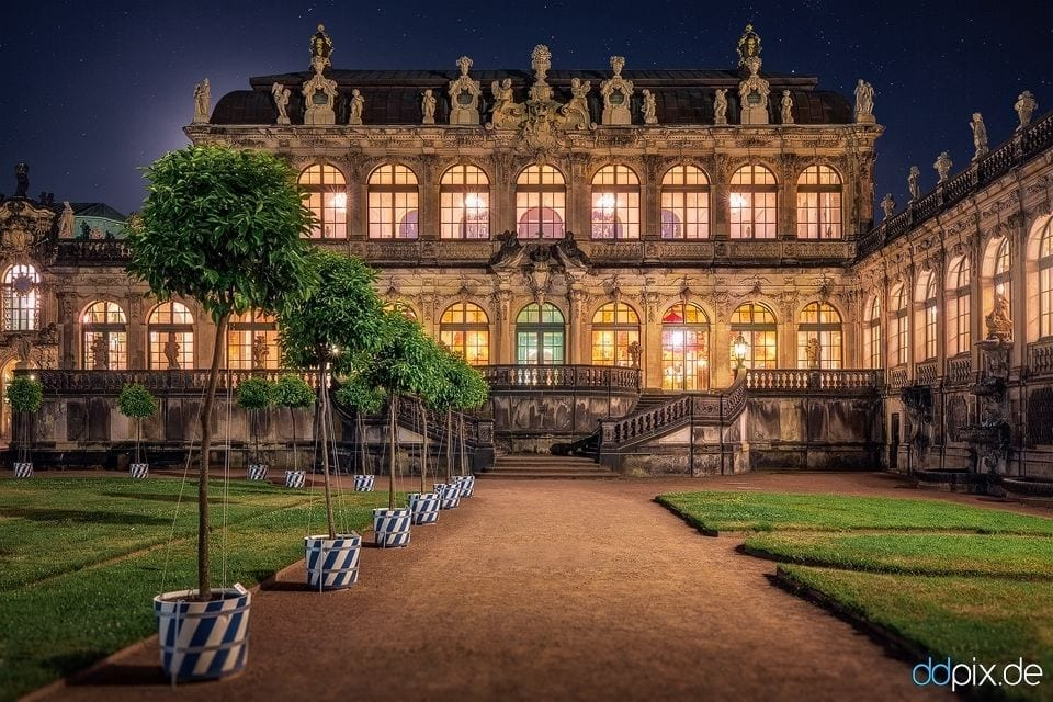 Museumsnacht im Dresdner Zwinger