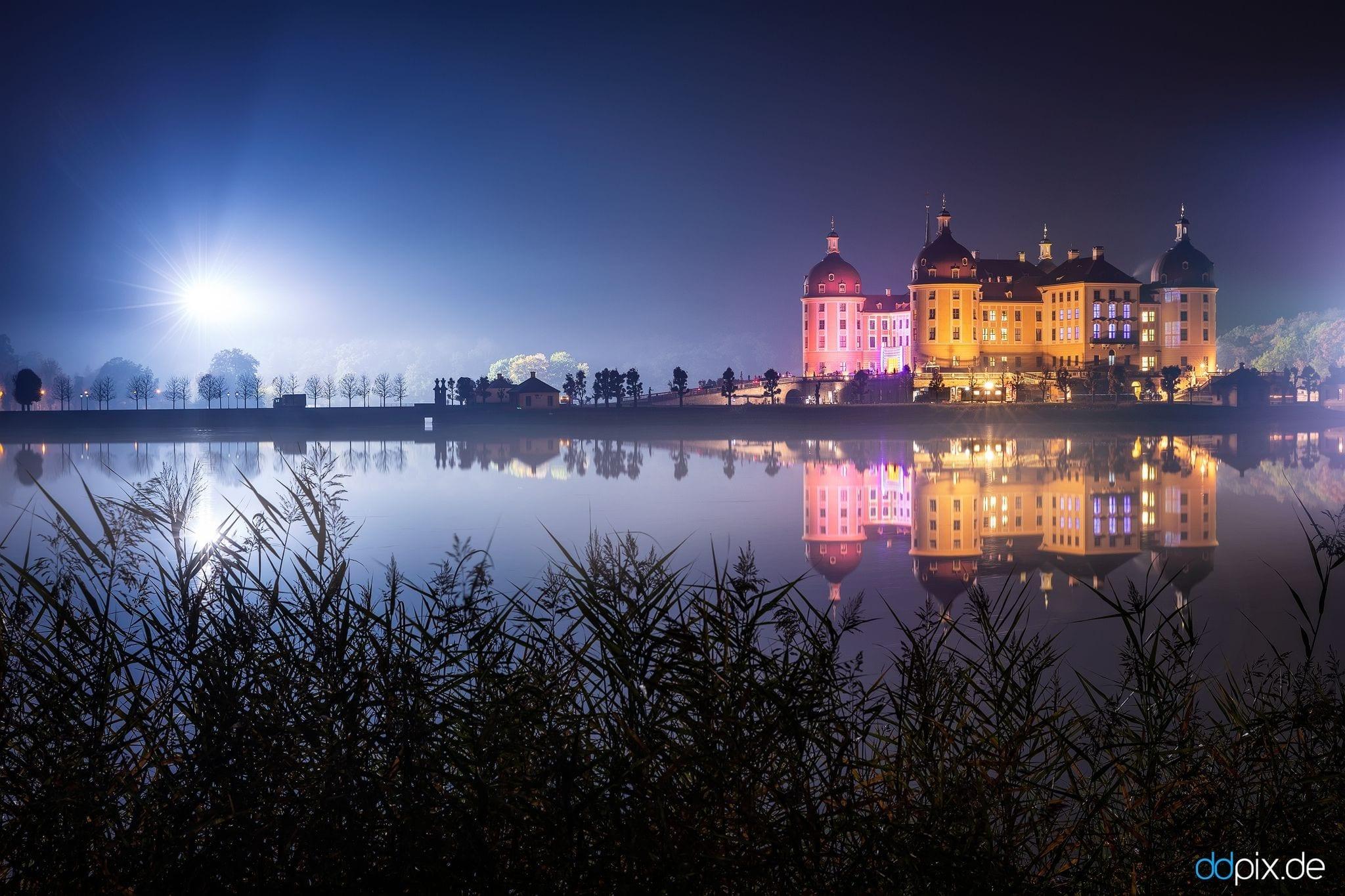 Dreharbeiten am Schloss Moritzburg