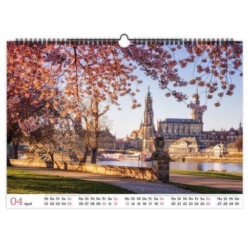 Dresden Kalender 2020 April