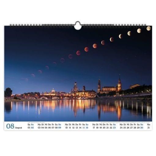 Dresden Kalender 2020 August