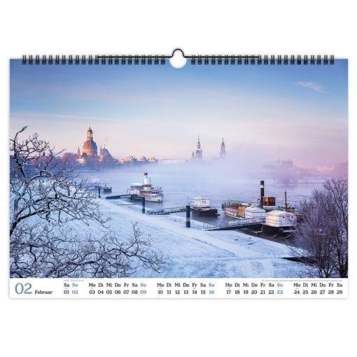 Dresden Kalender 2020 Februar