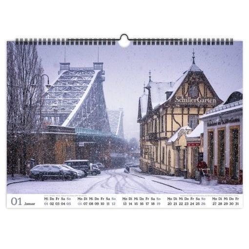 Dresden Kalender 2020 Januar