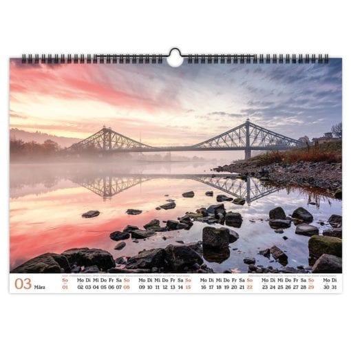 Dresden Kalender 2020 März
