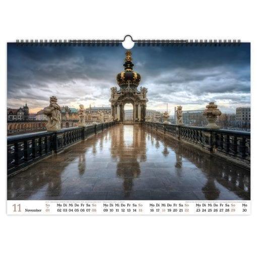 Dresden Kalender 2020 November