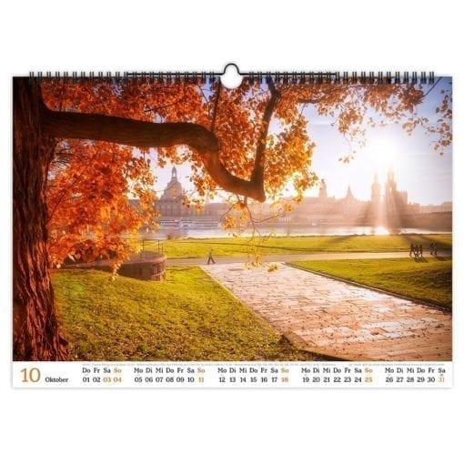 Dresden Kalender 2020 Oktober