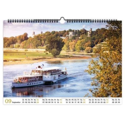 Dresden Kalender 2020 September