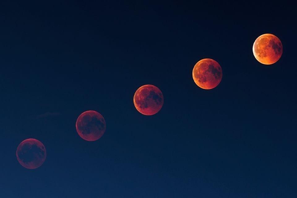 Mondfinsternis im Januar 2019 fotografieren