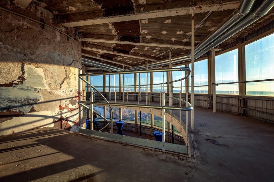Das ehemalige Turmrestaurant