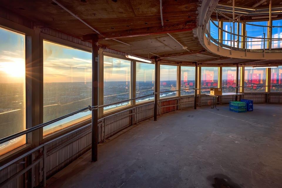 Blick aus dem Turmrestaurant
