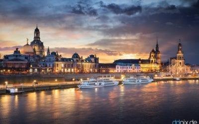 Sturmabend in Dresden
