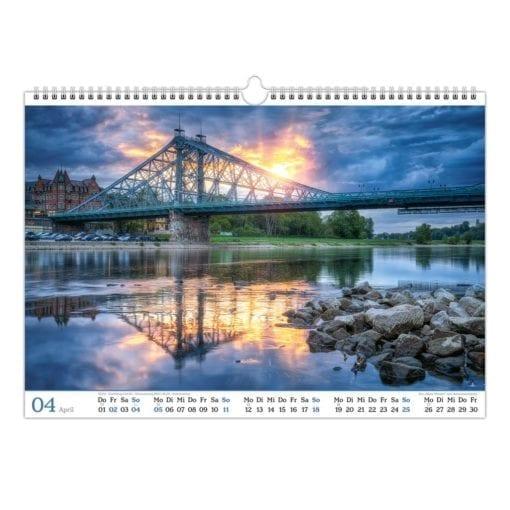 Dresden Kalender 2021 April