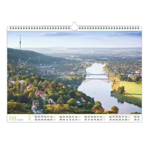 Dresden Kalender 2021 August