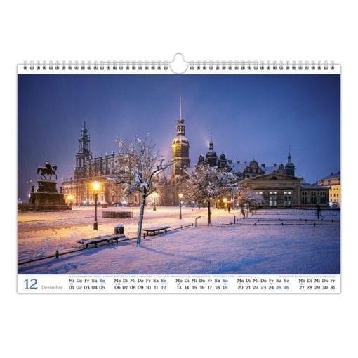 Dresden Kalender 2021 Dezember