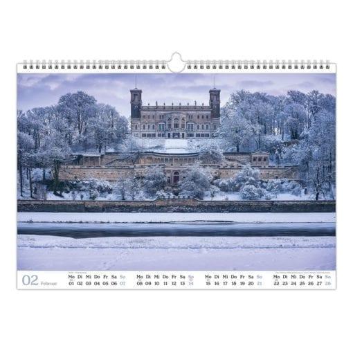 Dresden Kalender 2021 Februar
