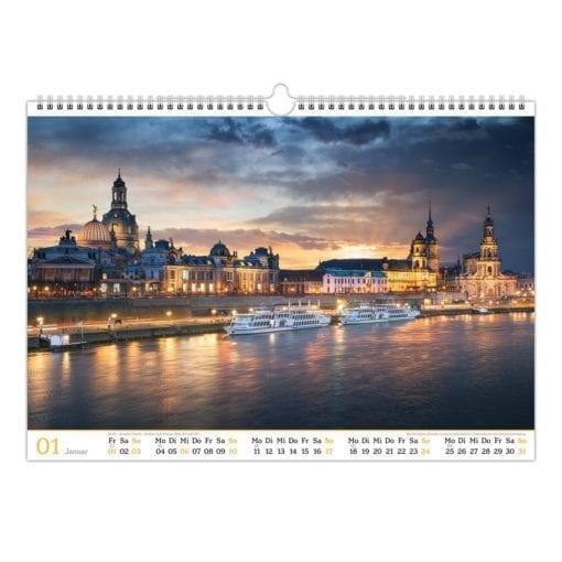 Dresden Kalender 2021 Januar