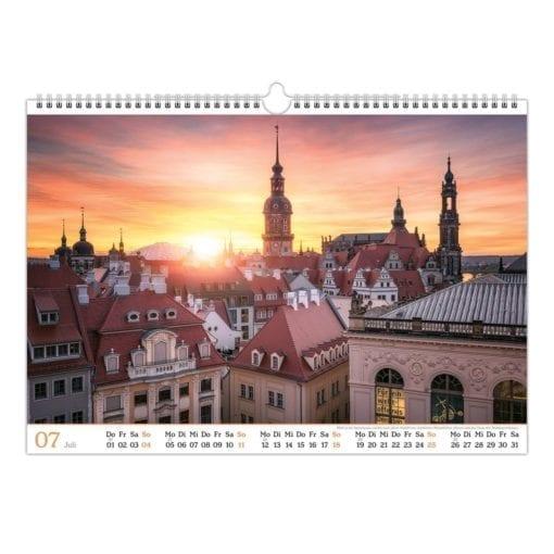 Dresden Kalender 2021 Juli