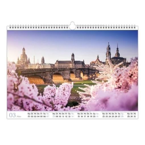 Dresden Kalender 2021 März