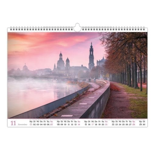 Dresden Kalender 2021 November