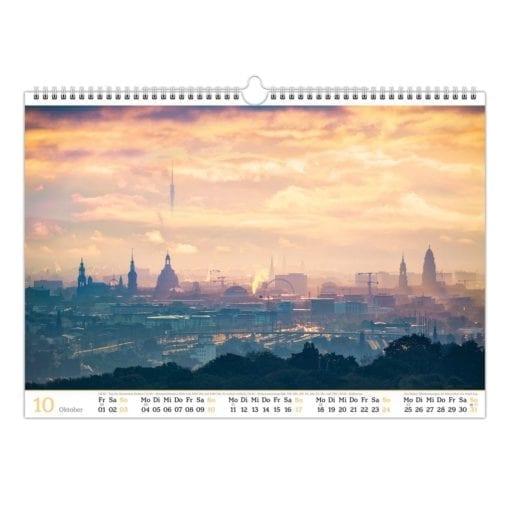 Dresden Kalender 2021 Oktober
