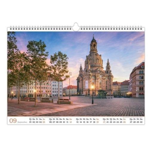 Dresden Kalender 2021 September